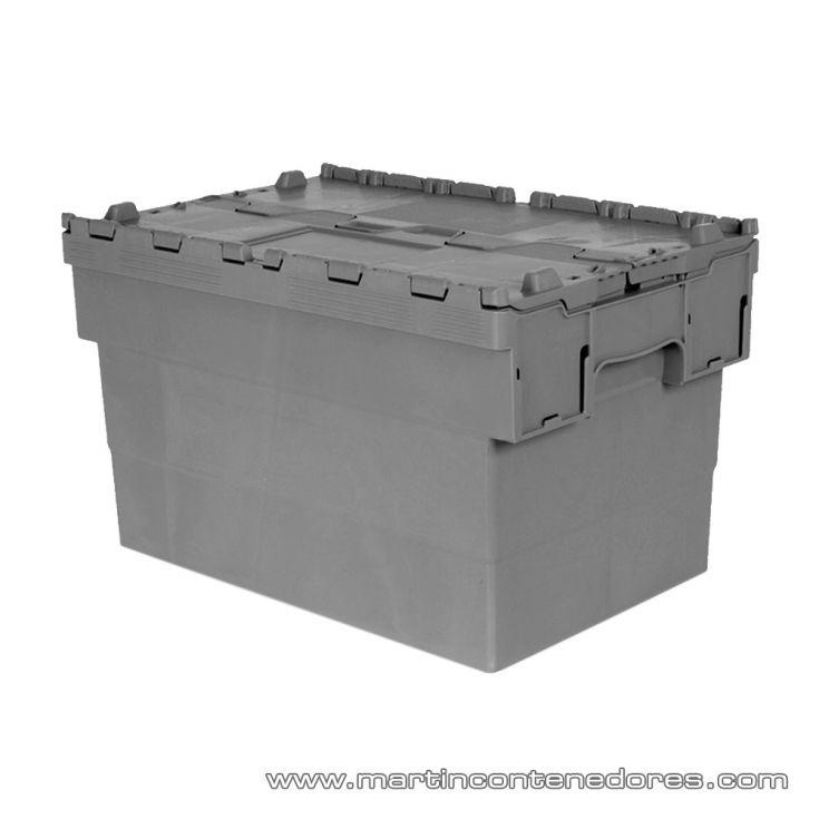Caja plástica encajable