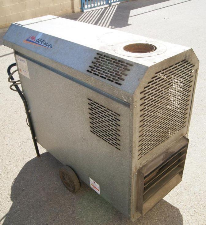 Generador de aire caliente portátil