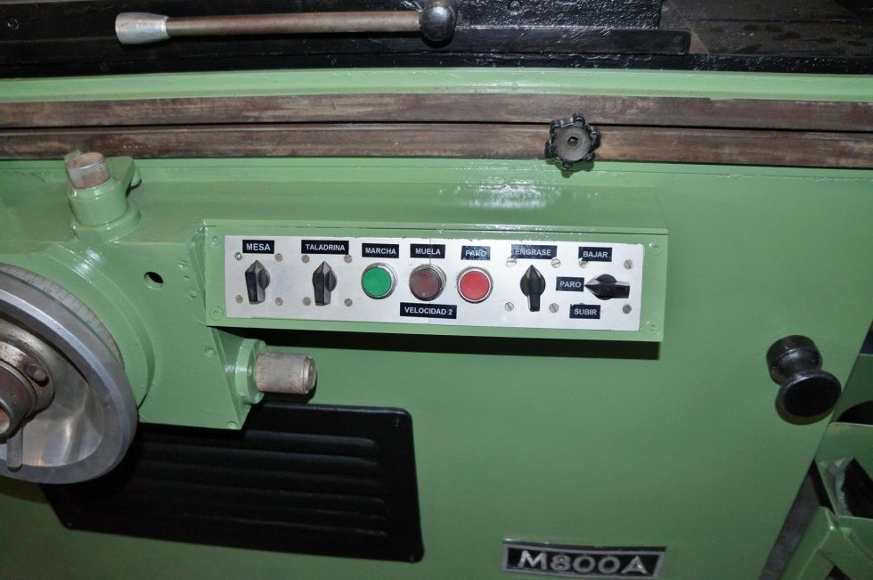 Rectificadora hidráulica