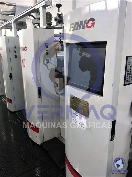 Impresora Rotativa Flexográfica