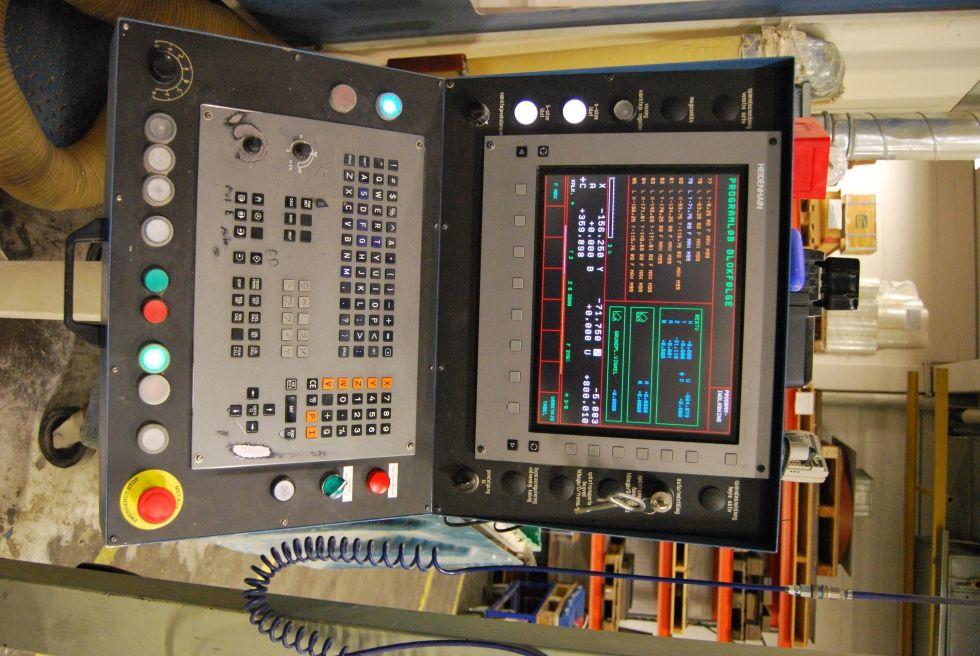Portal milling AXA UPFZ 40 5 Axis portal X/Y/Z 3700 x 1500 x 650 mm Mach4metal