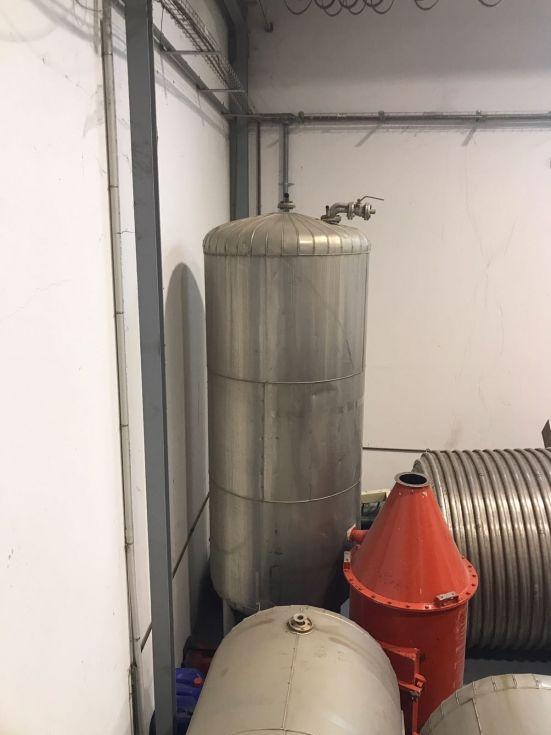 Columna de destilación inox de segunda mano