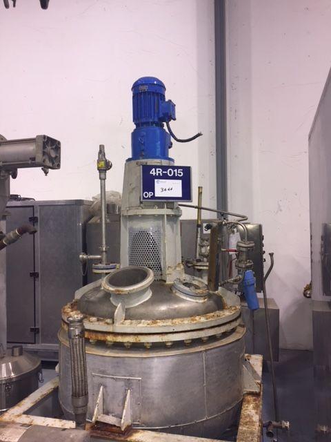 Reactor 1600 l inox de segunda mano