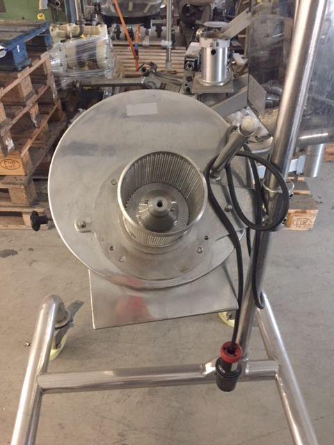 Tamizadora glatt labortecnic tr-120 de segunda mano