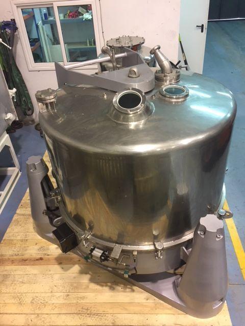 Centrifuga rina 200f 1250 inox 316l de segunda mano