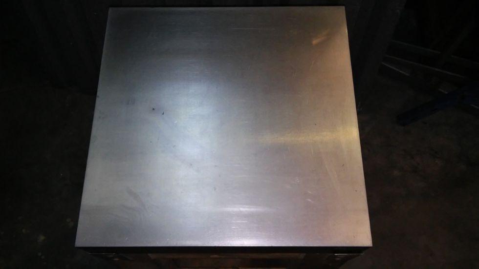 Mesa para medición/calibrado de acero macizo