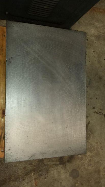 Mesa para medición/calibrado de hierro fundido.