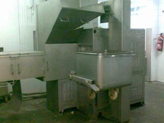 Extrusora recuperador de carne