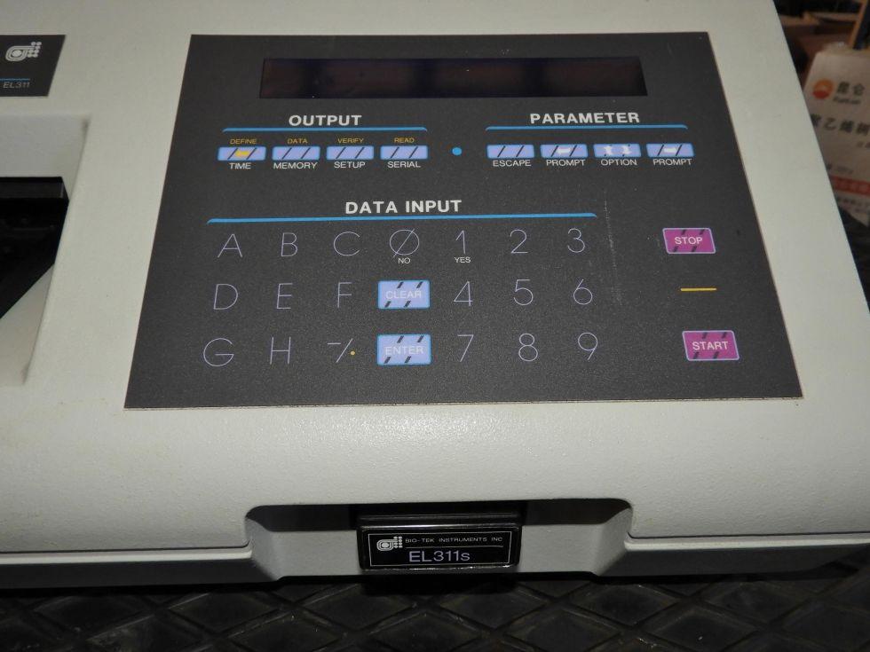 Lector automático de microplacas