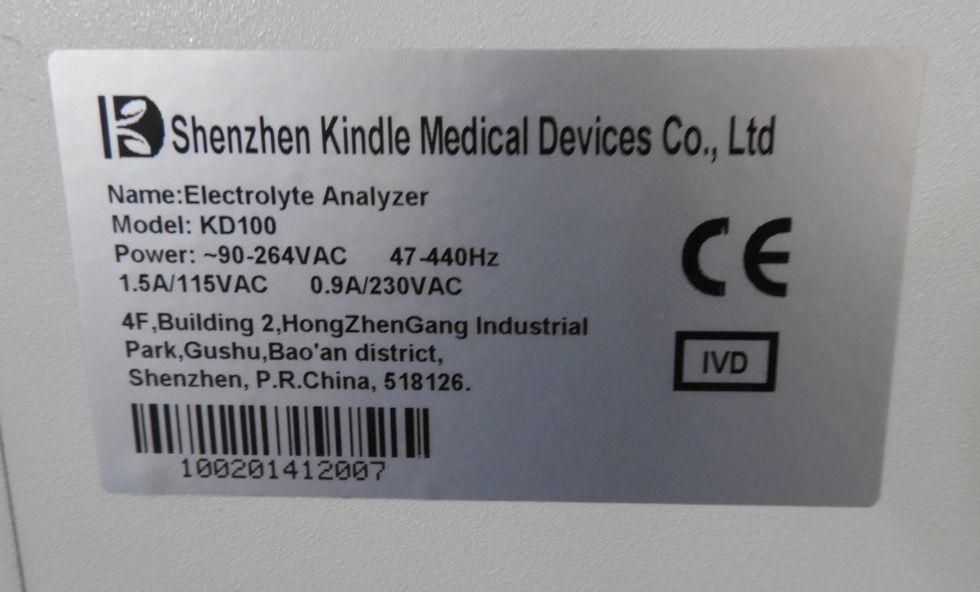 Analizador de electrolítos