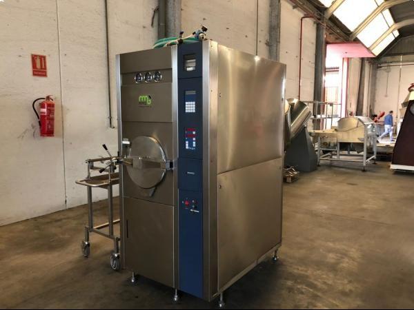 Autoclave de laboratorio en acero inoxidable MATACHANA con capacidad de 156 litros