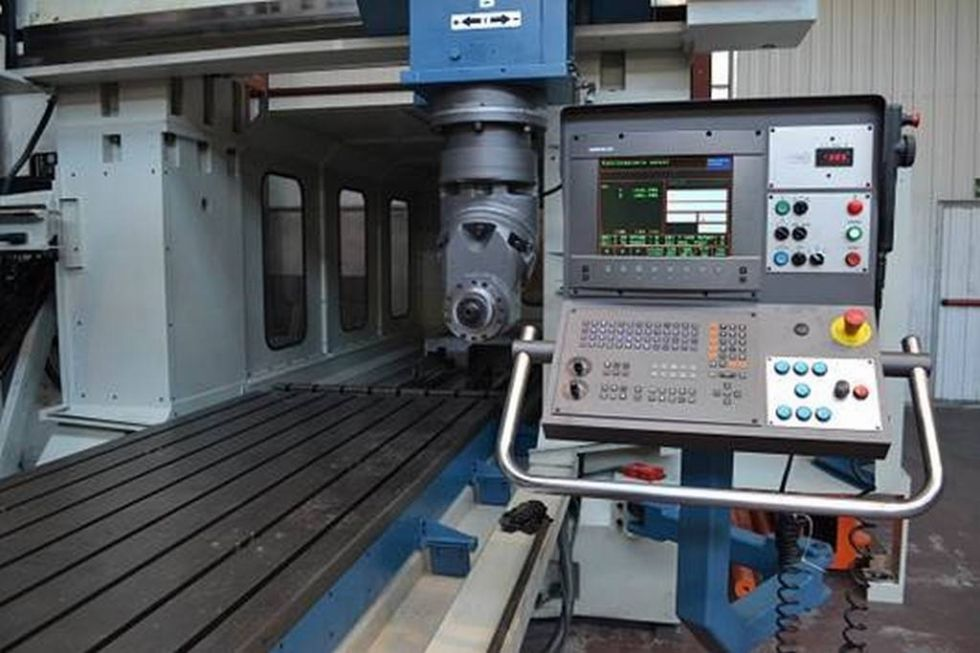 Fresadora de Planear CNC