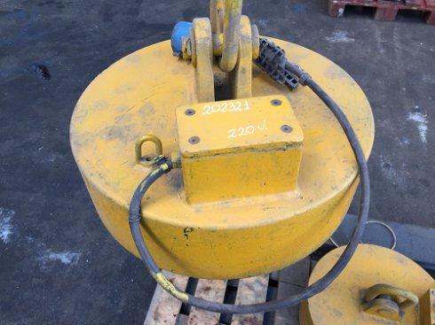 Electroimán diámetro 450, Ocasión