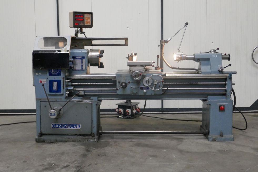 Cazeneuve Universal lathe HB 575 x 1500 mm= 3723 Mach4metal