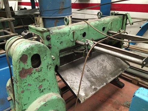 Cizalla mecánica Somme de 1100mm