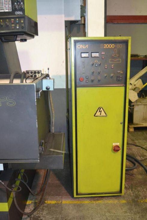 Electroerosion ONA cnc POLI-SPARK