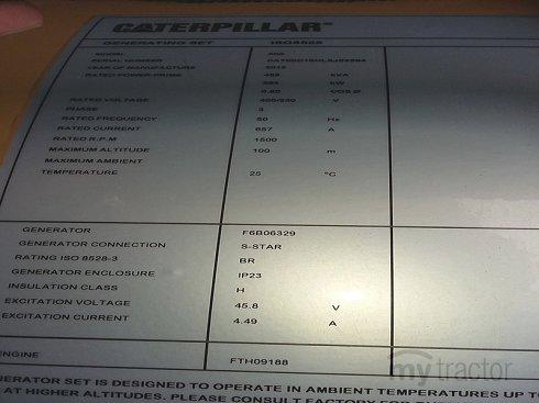 Caterpillar C15 LXJ02284 2015