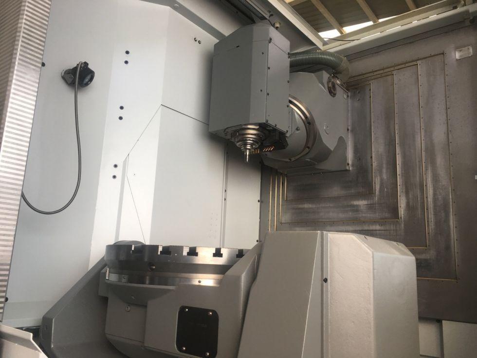 Centro de mecanizados 5 ejes