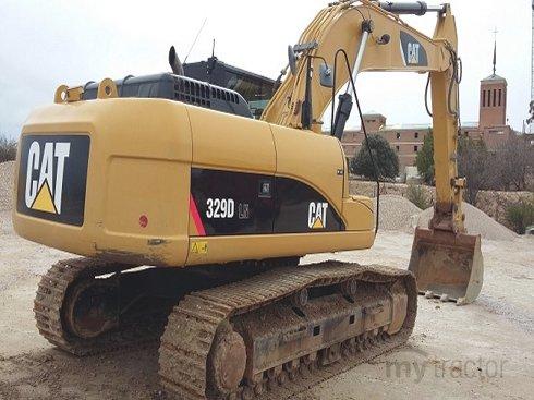 Caterpillar 329DLN EBM00249 2010