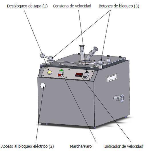 Centrifuga super compacta tipo ra-20-vx de segunda mano
