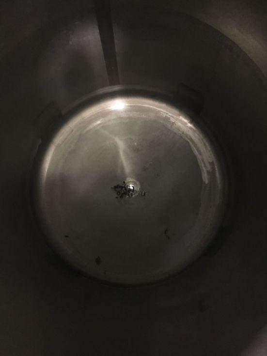 Deposito acero inoxidable 1400 litros de segunda mano