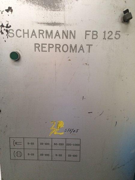 Mandrinadora Scharmann FB125 Repromat