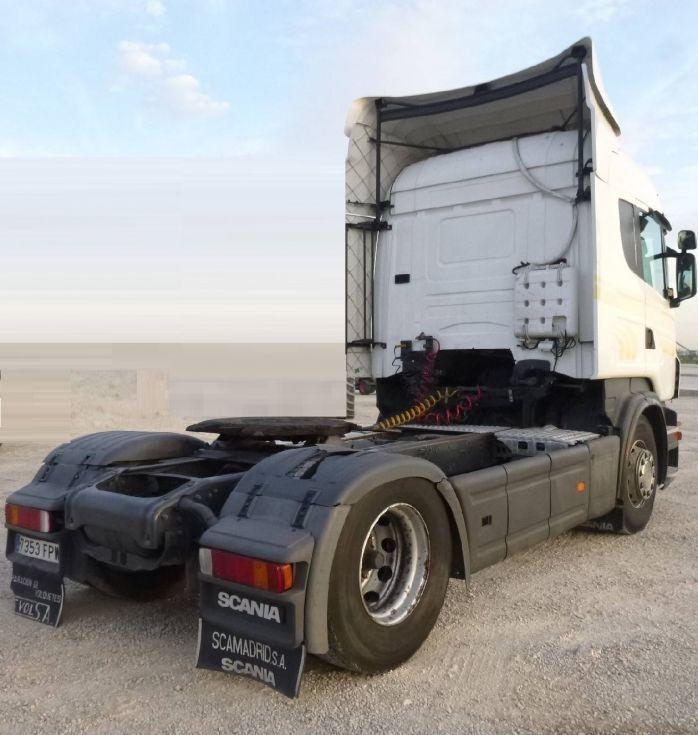 Cabeza tractora scania R480