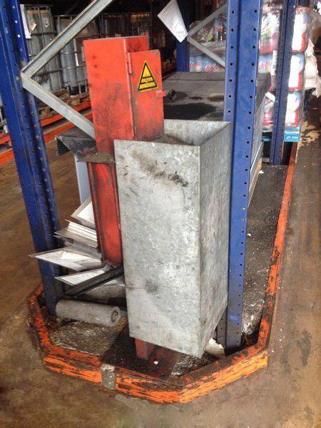 Prensa compactador de filtros / latas