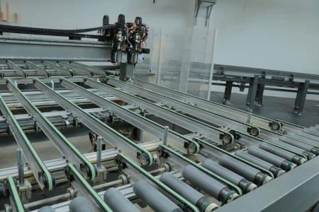 Centro de mecanizado de ventanas CNC BIESSE UNIWIN