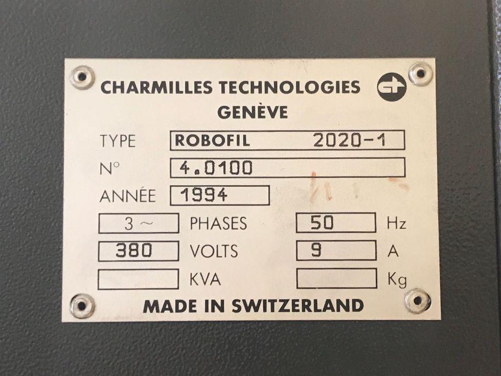 Charmilles Robofil 2020 Wire EDM 320 x 220 x 116 mm 4001 = Mach4metal