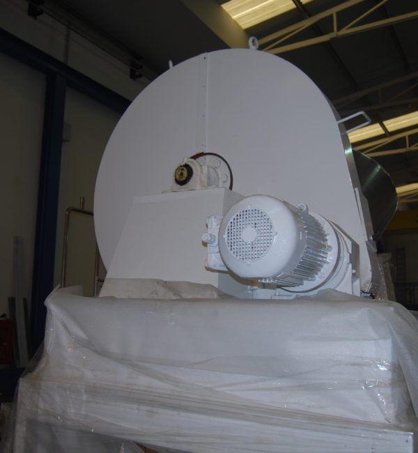 Mezclador v de acero inoxidable de 1000 litros de segunda mano