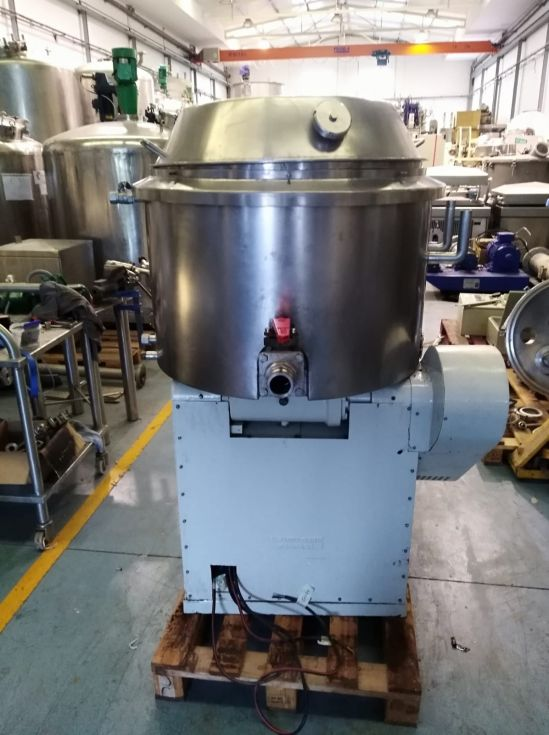 Reactor turu grau 250 litros acero inoxidable con camisa de segunda mano
