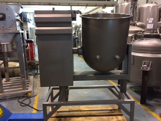 Mezclador de vacio hely-joly 175 litros acero inoxidable