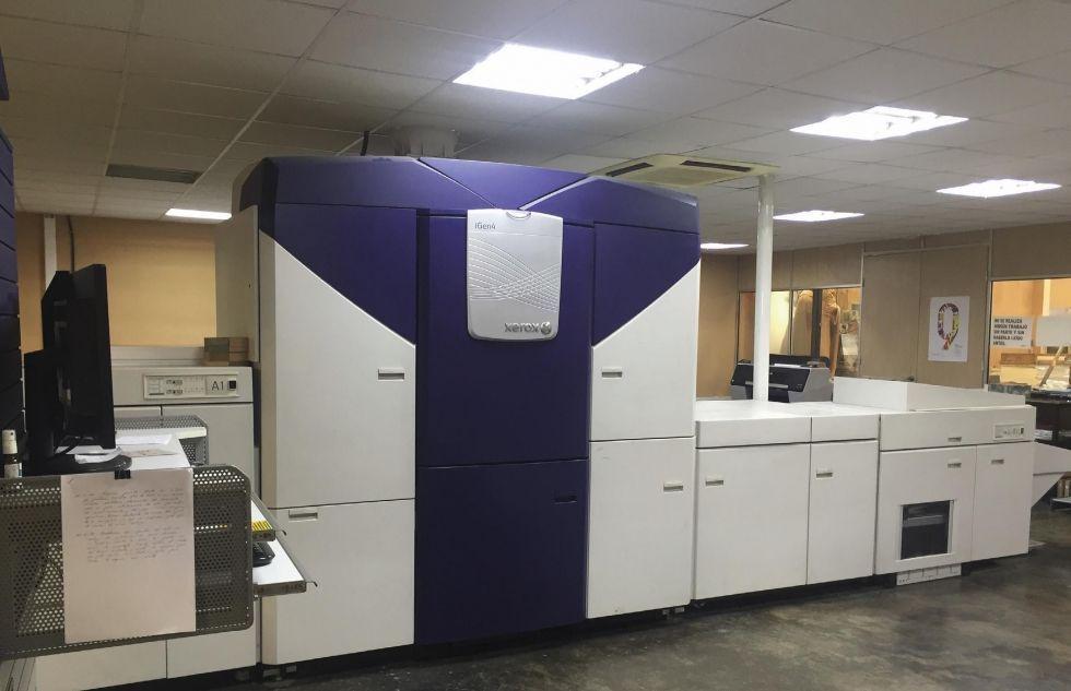 Impresora digital xerox igen 4 modelo 110 xxl