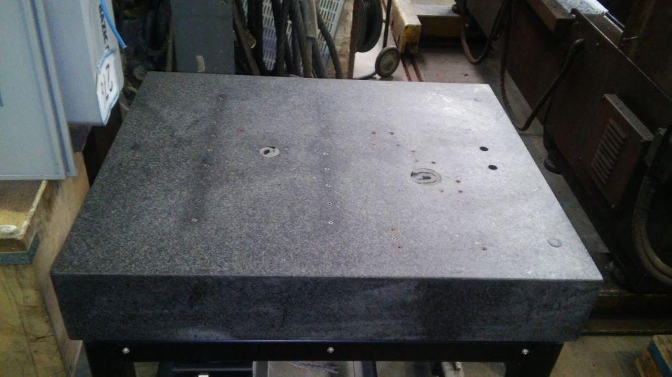 Mesa para medición/calibrado de Granito