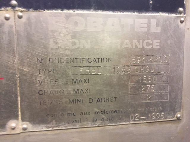 Centrifuga robatel ehbl 1053 drg