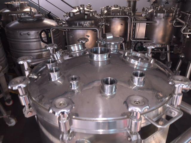 Deposito acero inoxidable 316l 300 litros de segunda mano