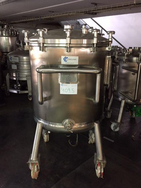 Deposito acero inoxidable 316l 500 litros de segunda mano