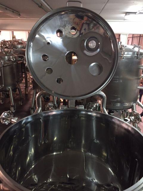 Deposito acero inoxidable 316l 200 litros de segunda mano