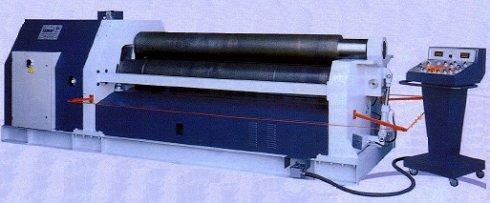 Cilindro hidráulico Famar de 4 rodillos QI-416 20/6 de 2.000x6/8mm