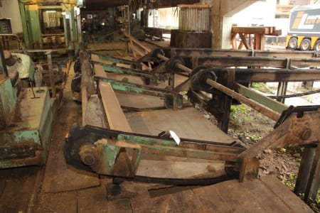 Planta de corte de madera en rollo/sierra múltiple ESTERER