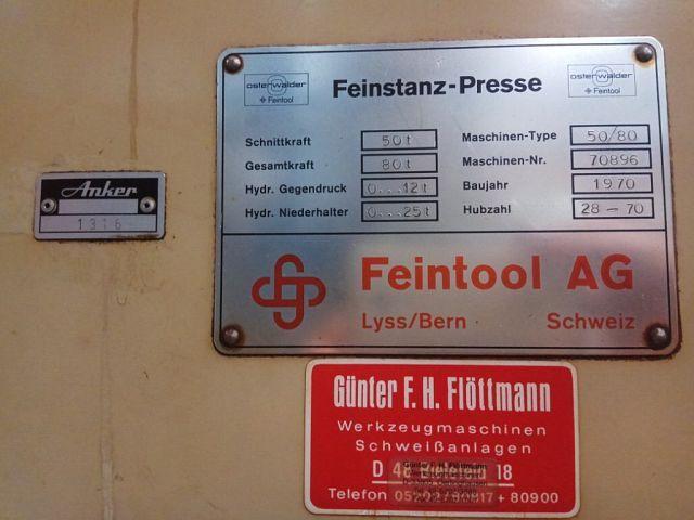 Fineblanking Feintool 50/80