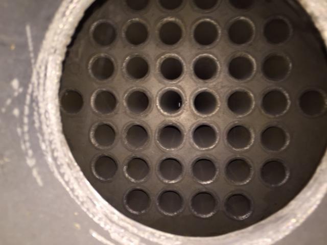 Intercambiador tubular 4.5 m2 acero inoxidable