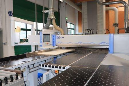 Célula de fabricación flex. HOMAG - HOLZMA - BARGSTEDT TFL 420 / HKL 380 / KFL 610   Tamaño lote 1   con láser