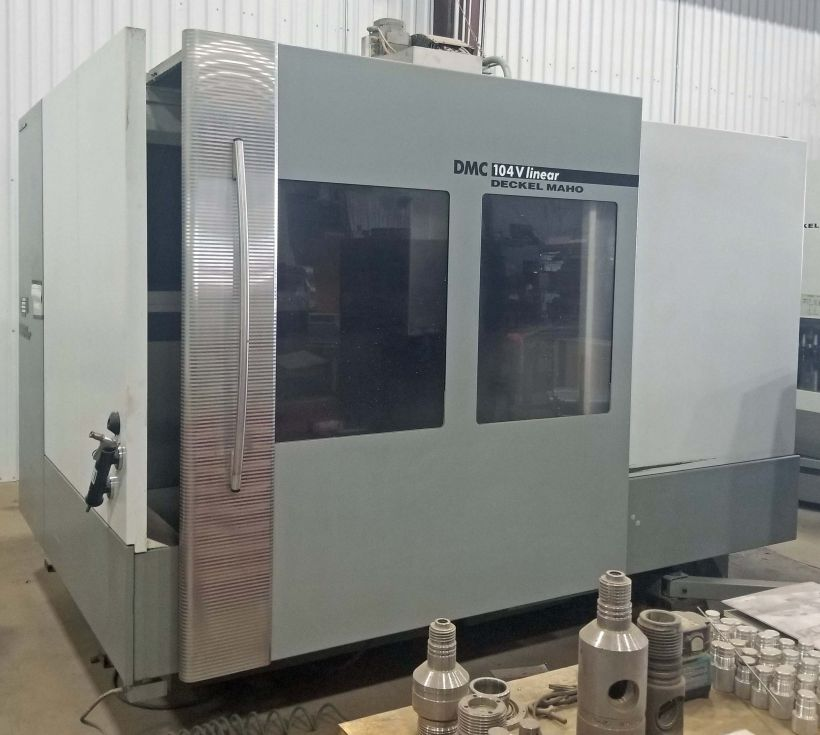 DMC 104 V Linear portal milling 1000 x 700 x 600 mm 3989 = Mach4metal