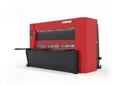 Cizalla guillotina de corte vertical CNC C2006