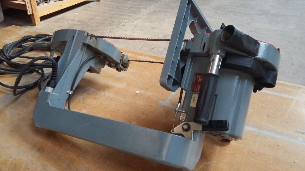 sierra de cinta portatil