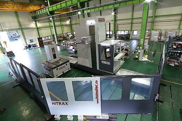 Mandrinadora Horizontal de Piso CNC