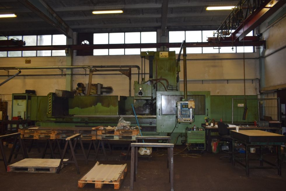 CNC Surface Danobat 4000 x 1100 x 1000 mm 4110 = Mach4metal