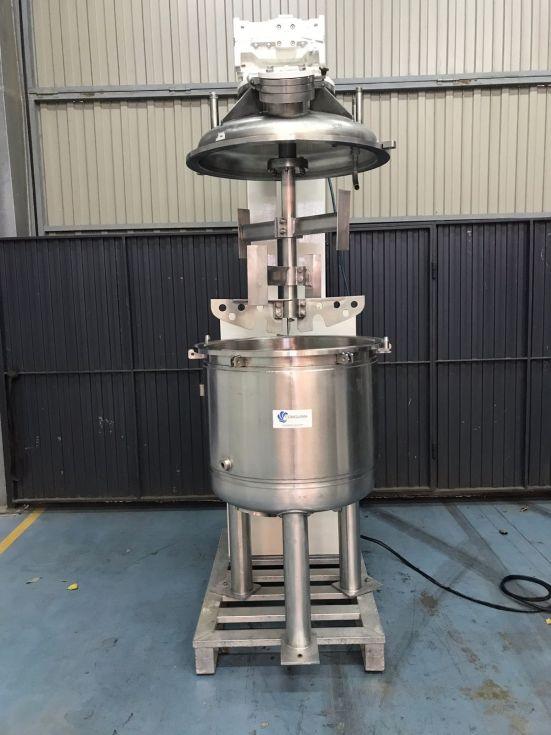 Reactor ats 300 litros en acero inoxidable